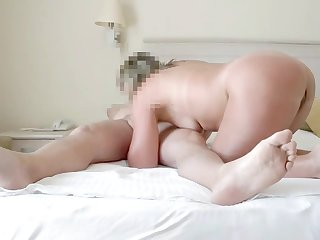 holiday sex with my wife in the hotel room