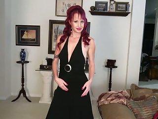Purple haired tattooed slut Heather is more than ready to masturbate on the floor