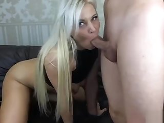 Stunning webcam milf with big boobs loves to suck and fuck
