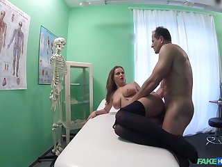 Hot patient Candy Alexa wanted to be fucked by her horny doctor