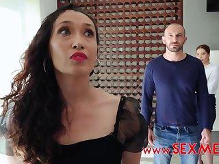 Julieta Fraga -PAWG redhead gets cum on face after amateur sex