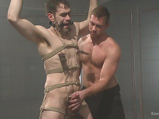 Gays in rough BDSM sex play ready for the ultimate anal