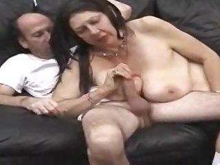 A Disturbing Porn Scene With A Grandma