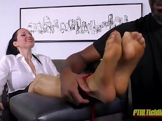 Mistress Maroe tickled