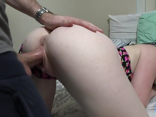 After blowing tasty cock babe with nice booty Athena Rayne jumps on dick