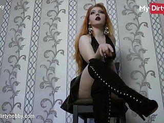 MyDirtyHobby - No Nut November instant fail with sexy redhead