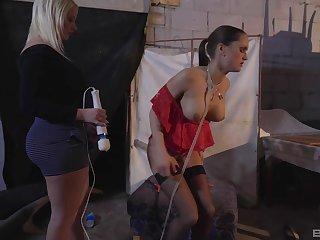 Naughty babes enjoy playing kinky games - Barbara Voice & Rachel La Rouge