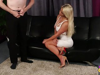 CFNM video of passionate sex with cock hungry babe Sienna Day