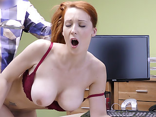Big-Boobed sandy-haired mature have rigid hookup for money