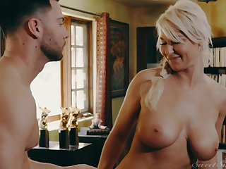 MILF London River gets taken care be advisable for hard by a younger stud
