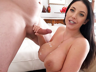 Wife with big naturals have sex with neighbor