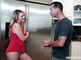 Adira Allure is ready for hard sex from behind with a handsome dude