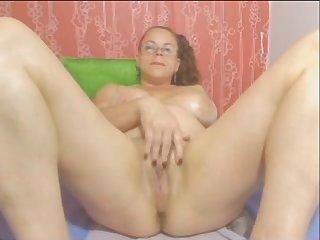 Webcam colombian granny milf teasing part 2 no sound - imlivefreecams (dot) com