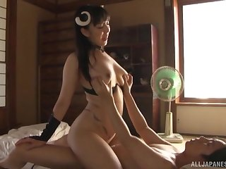 Costumed and wild Mashiro An has unforgettable fucking skills