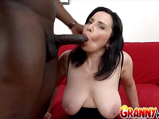Hairy Older Marika Shine Gets Ass Fucked and Creampied
