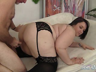 Jeffs Models - Sultry Fat Babe Alexxxis Allure Doggystyle Compilation 1
