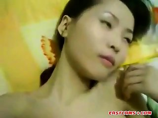 Creepy Chinese Guy with Chinese Whore