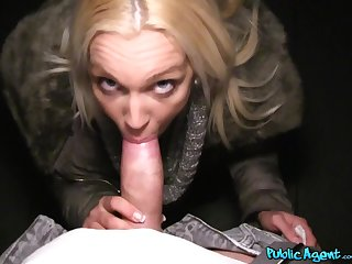 Just look at her fucking and sucking for cash